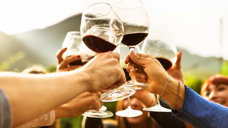 Vinho brinde